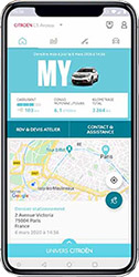 App movil Citroën Álava Lascaray
