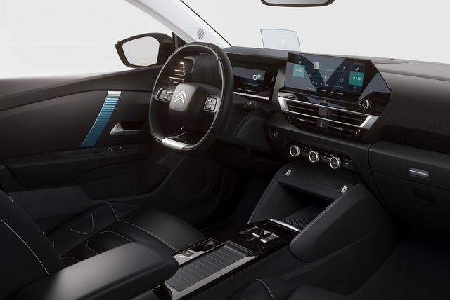 Fotografía del interior del Citroën C4