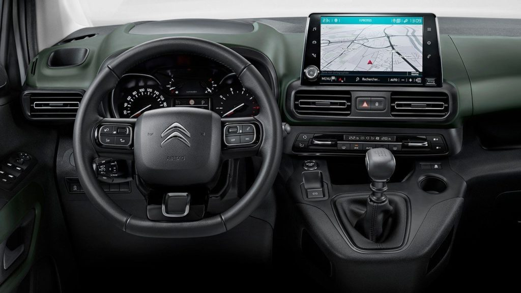 Interior de la Berlingo 2021