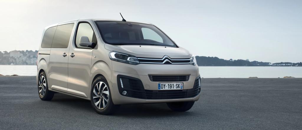 Plano frontal de Citroën SpaceTourer