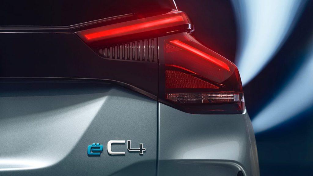 ë-C4 coche 100% eléctrico de Citroën