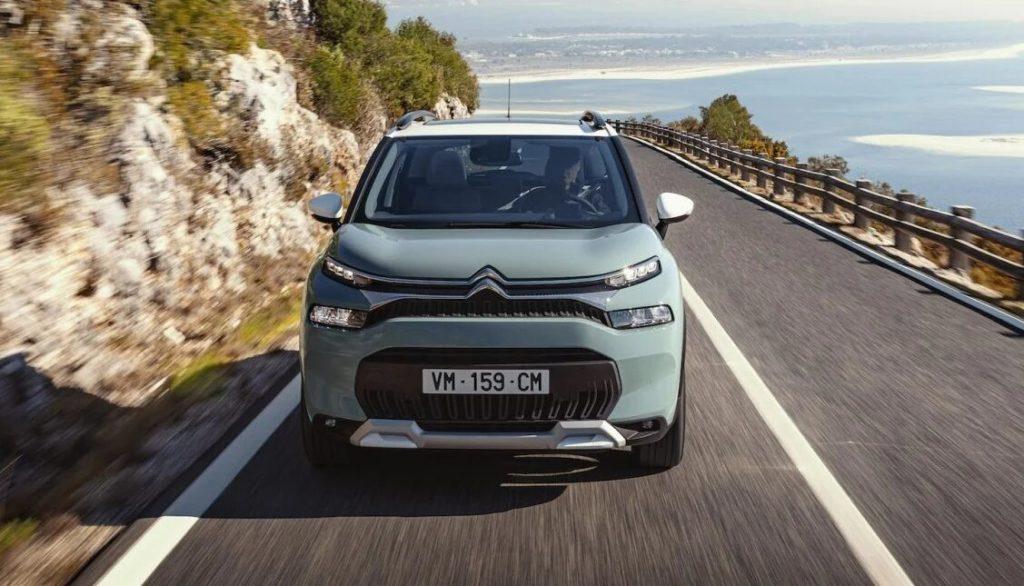 Frontal delNuevo Citroën C3 Aircross 2021