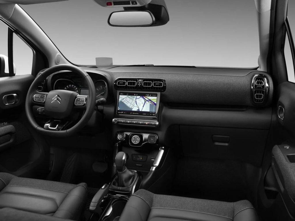 Interior del nuevo rediseño del C3 Aircross