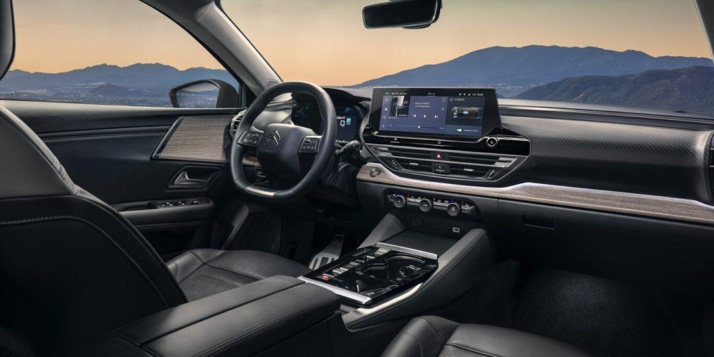 Interior del Nuevo Citroën